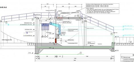 Abbildung 24 Technische Zeichnung HRB Bergisch Gladbach